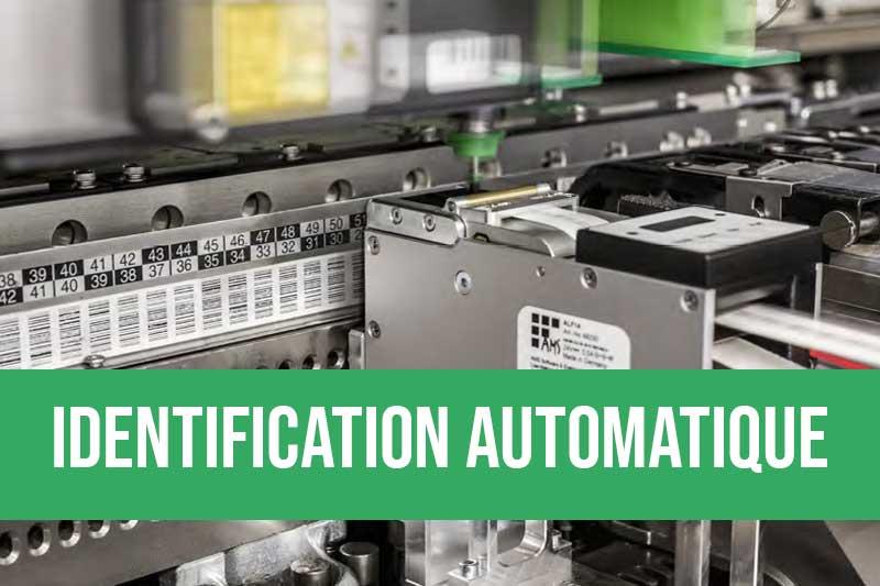 Impression et pose automatique d'étiquettes pour la traçabilité de cartes électroniques