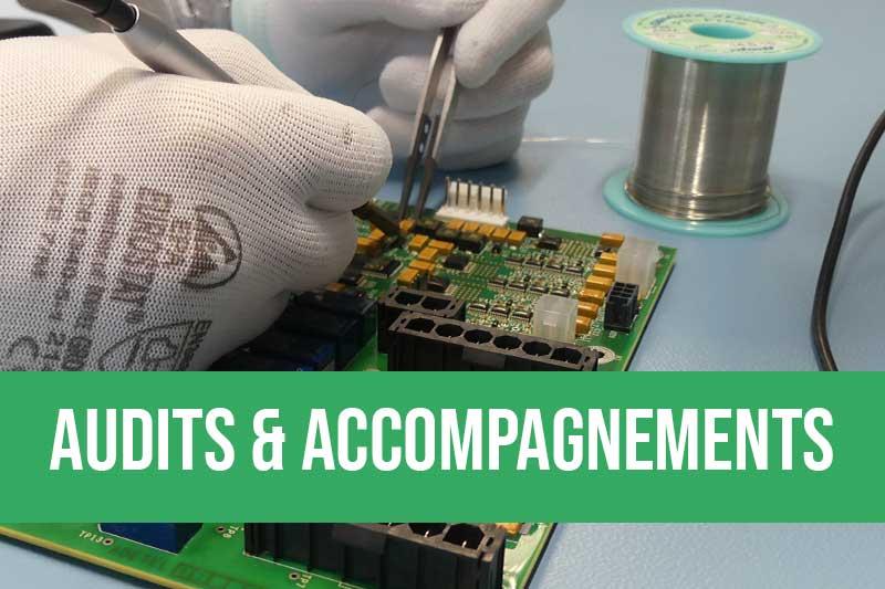 Accompagnement pour la qualification d'alliages pour l'électronique et optimisation des process de fabrication de cartes