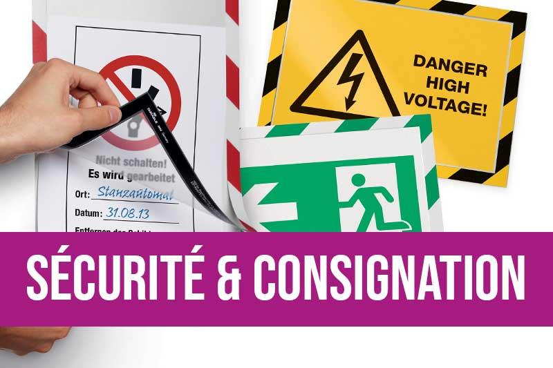 Equipements pour l'identification des risques et équipements pour la consignation des énergies dangereuses