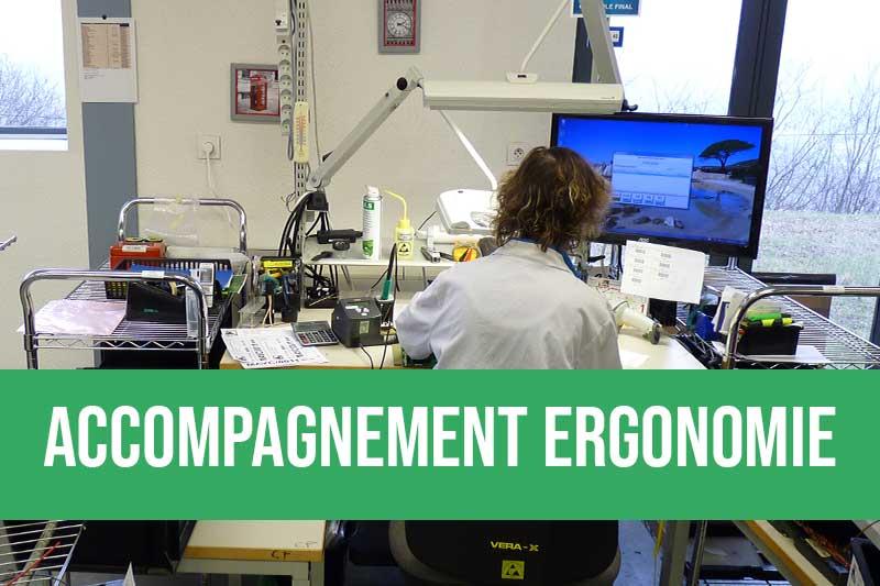 Accompagnement pour l'amélioration ergonomique des postes de travail et ateliers de production