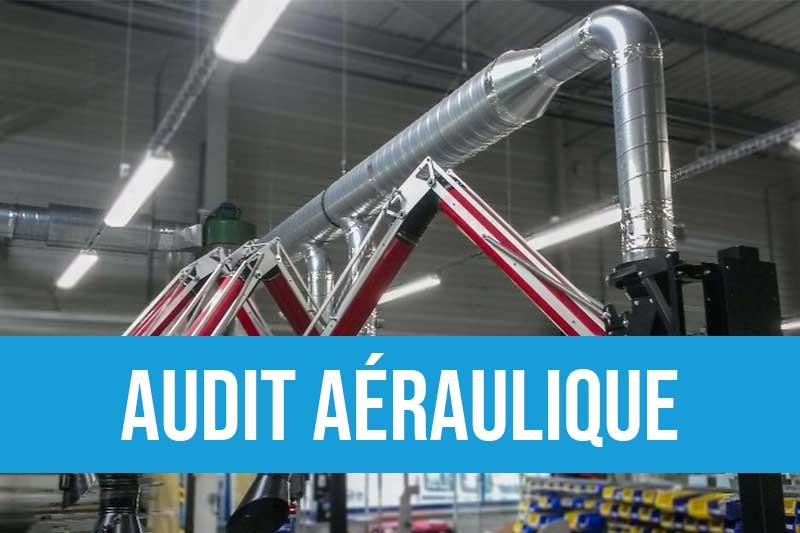 Audit aéraulique de vos équipements neufs ou existants pour optimiser vos flux d'air