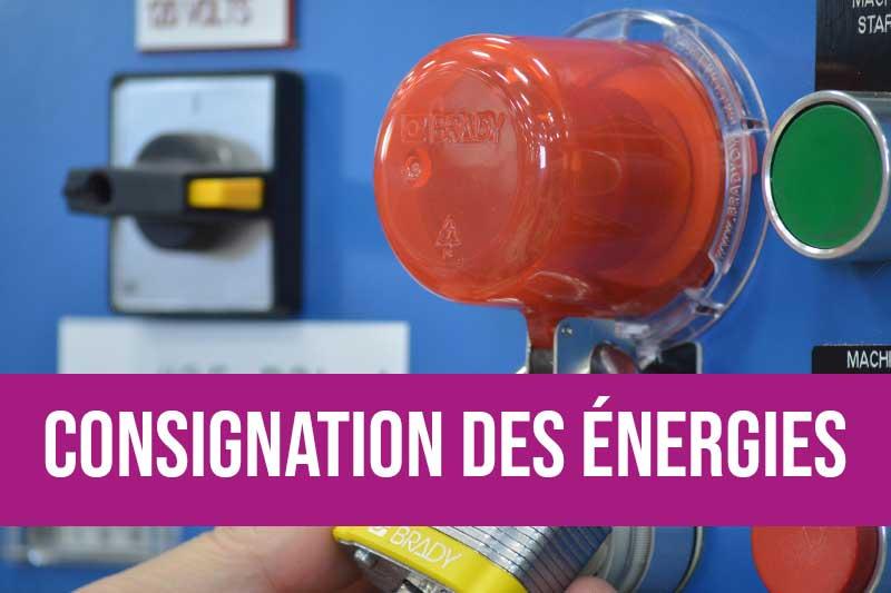 Formation consignation des énergies dangereuses pour sensibiliser, concevoir et exécuter des opérations de maintenance