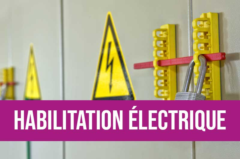 Formation habilitation électrique basse et haute tension pour effectuer des opérations de maintenance en tout sécurité