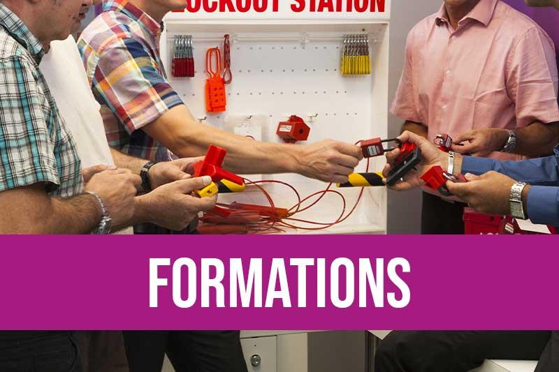 Formations consignation des énergies dangereuses et formations habilitation électrique avec organisme certifié Qualiopi et Datadock