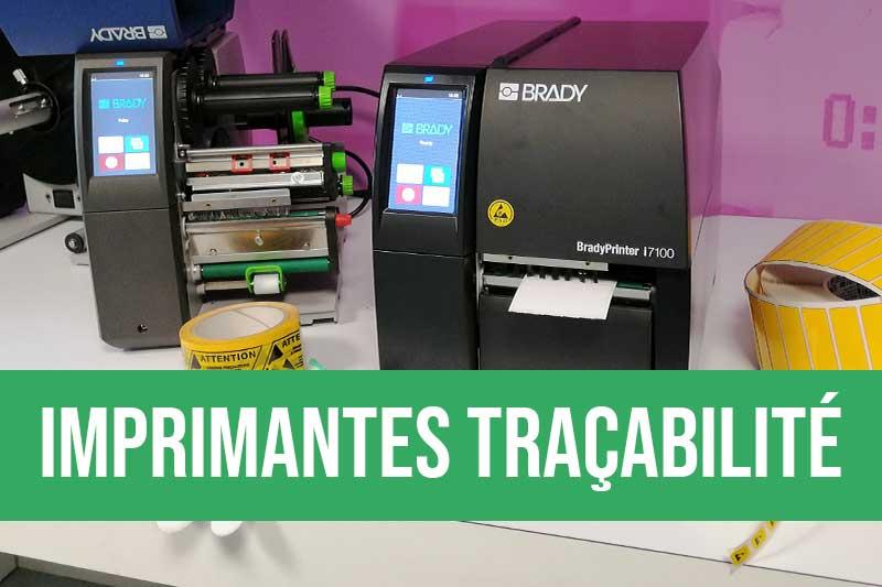 Imprimantes pour la traçabilité industrielle avec l'étiquetage des cartes électronique
