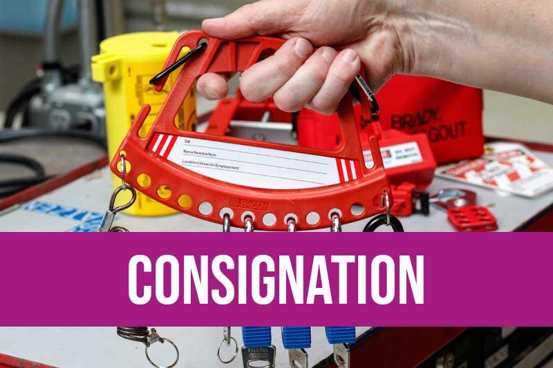 Matériel de consignation avec cadenas, boîtes de cadenas, dispositifs de consignation pour gaz, électrique, air, eau avec vannes