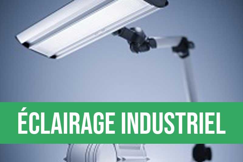 Eclairage industriel pour les postes de travail, éclairage machine, lampe loupe pour le contrôle visuel
