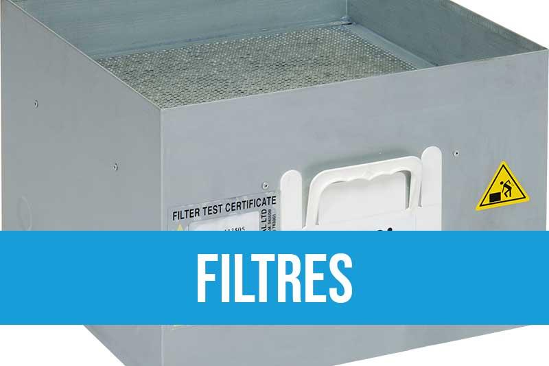 Filtres et préfiltres Purex filtres HEPA14 haute capacité de captation