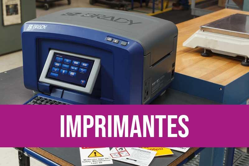 Imprimantes de sécurité Brady pour imprimer pictogrammes, marqueurs, CLP et autres étiquettes d'identification des risques