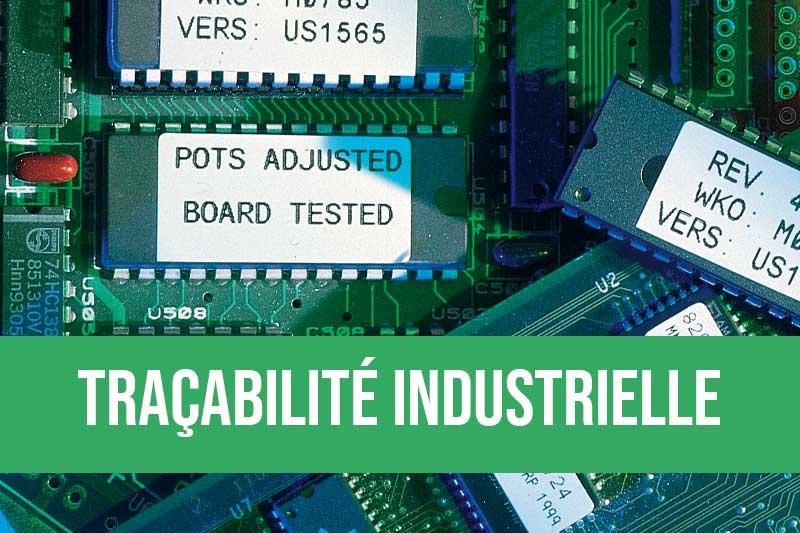 Traçabilité industrielle avec les solutions d'impression et pose automatique d'étiquettes et la RFID
