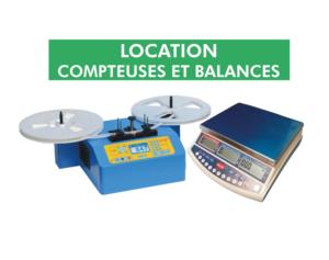Préparation d'inventaires location de balances et compteuses de composants électroniques