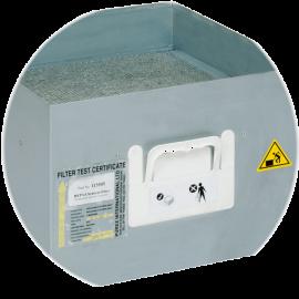 recyclage des filtres usagés de vos extracteurs et remise du BSD bordereau de suivi des déchets