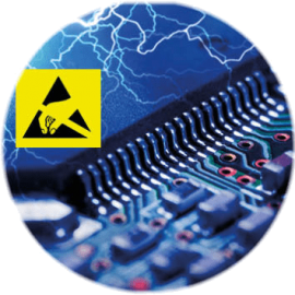 les ESD peuvent endommager les composants sensibles d'une carte électronique