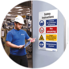 une bonne signalétique permet une meilleure visibilité des zones à risques, une meilleure utilisation de vos équipements et une sécurité en interne pour tous